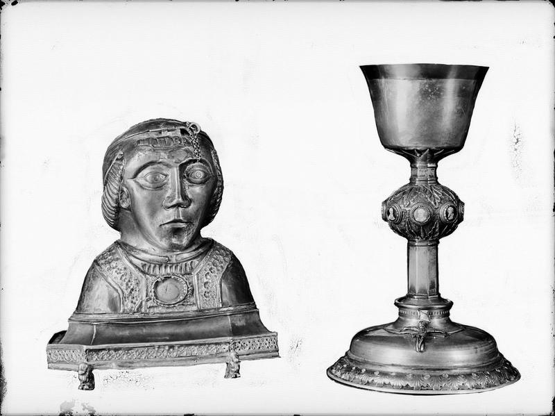 Buste-reliquaire de saint Mériadec