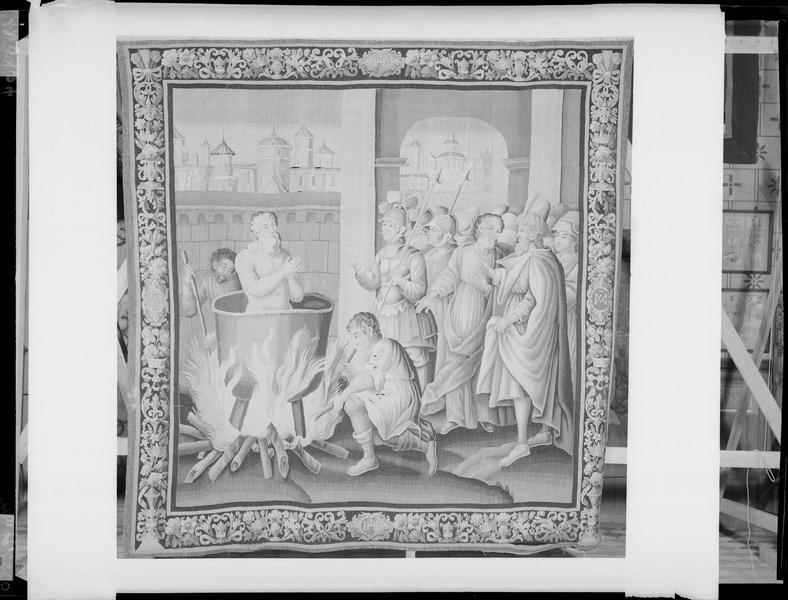 Tapisserie d'Audenarde, vie de saint Jean l'Evangéliste