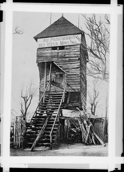 Enseigne : au panorama des vieux moulins