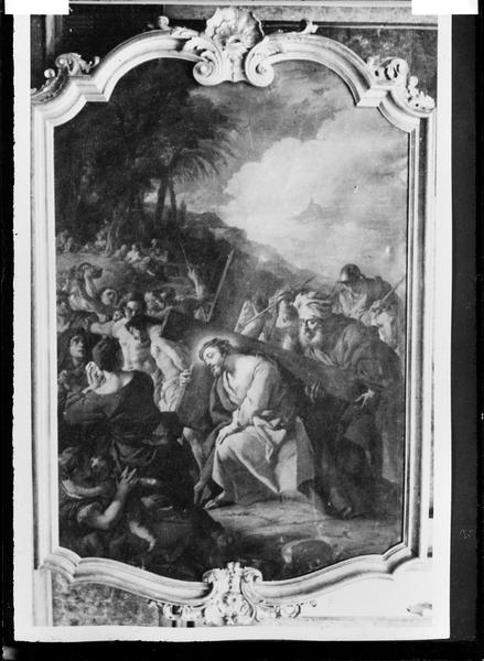 Tableau : Le Portement de croix