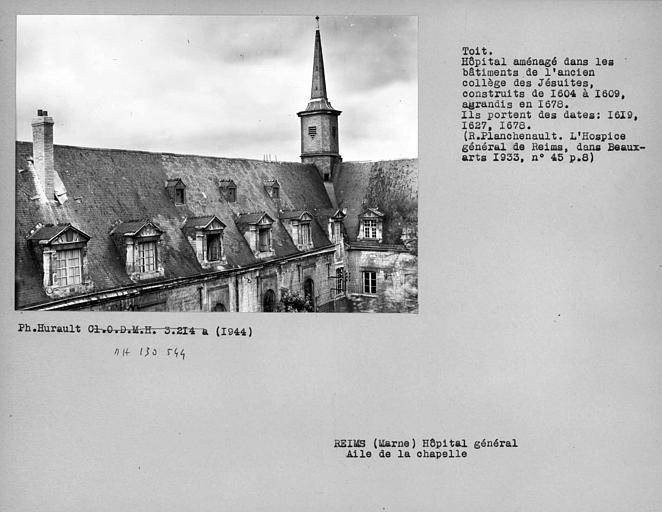 Ancien collège des Jésuites, actuellement Hospice général Museux