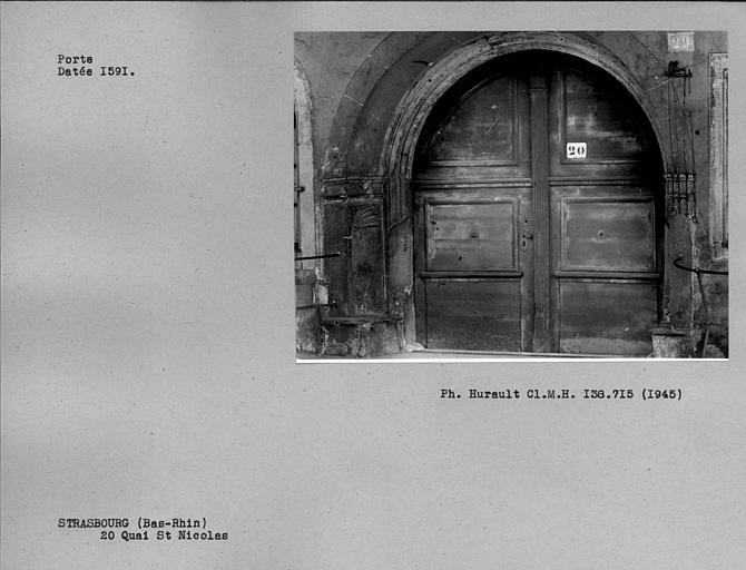 Porte datée