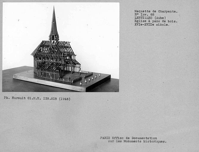 Eglise en pan-de-bois