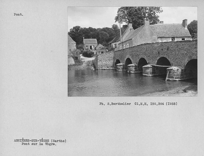 Vieux Pont sur la Vègre