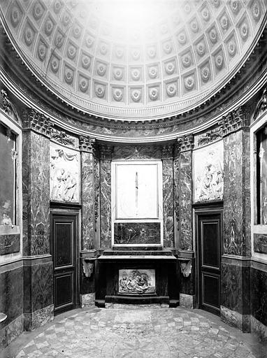 Chapelle : ensemble, plâtre, époque Louis XVI