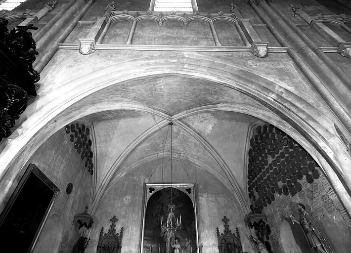 Voûte de la chapelle latérale