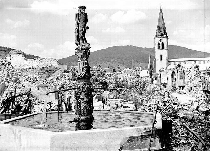 Fontaine de l'Homme Sauvage