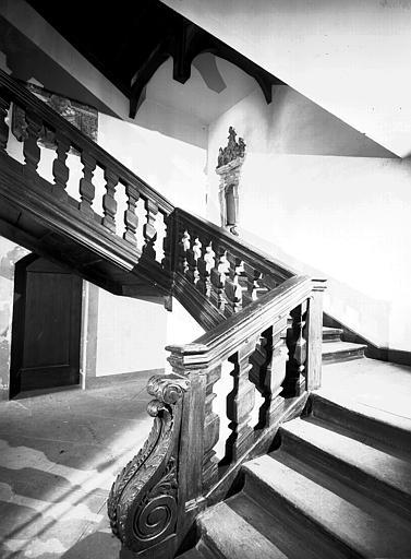 Escalier vu du bas