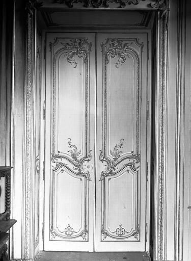 Salon de l'Assemblée : porte
