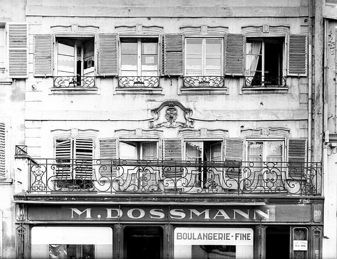 Balcon du premier étage