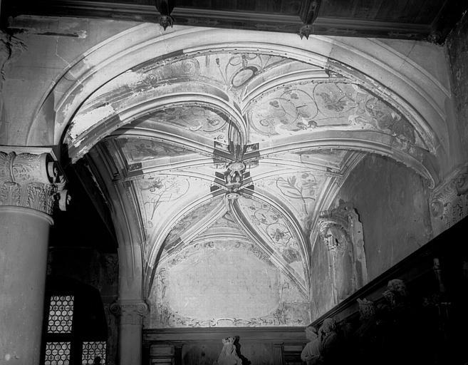 Voûte gothique de la loge des Maçons