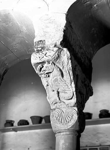 Chapiteau  : monstre