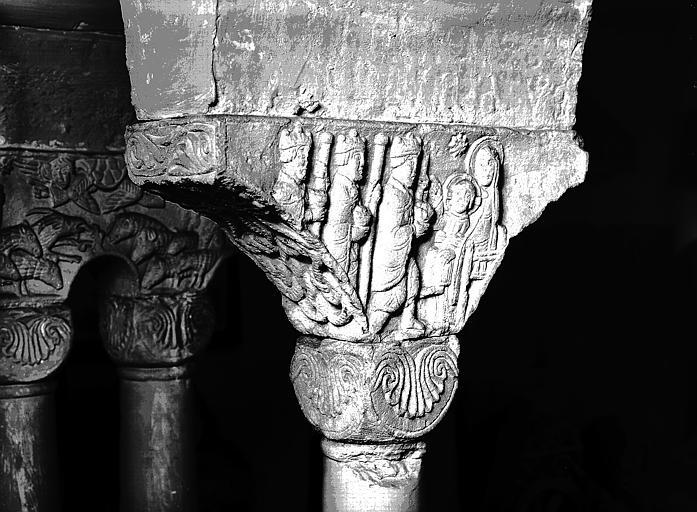Chapiteau : Adoration des Mages