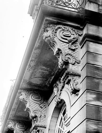 Console et balcon