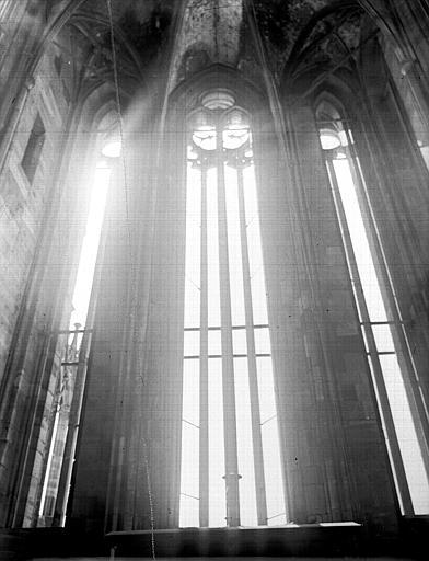 Fenêtres de la tour, intérieur