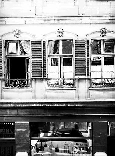 Fenêtre du premier étage