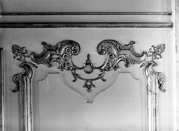 Grande Salle des Commissions : décoration des boiseries