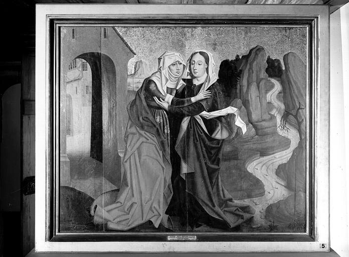 Peinture : la Visitation
