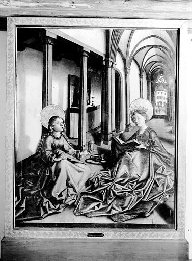 Peinture : sainte Catherine