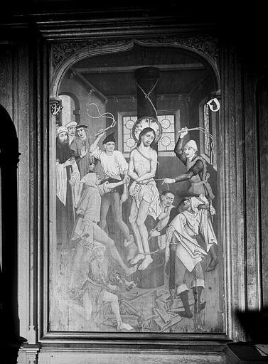 Tableau : la Flagellation