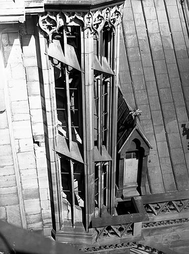 Escalier de la tour sud