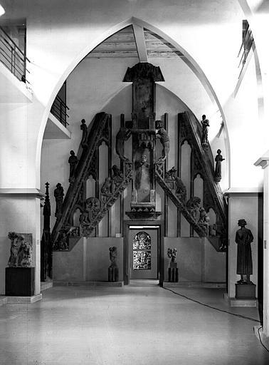 Reconstitution du grand gâble du portail centrale de la cathédrale