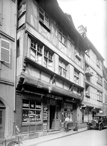 Maison ; Café de Madrid