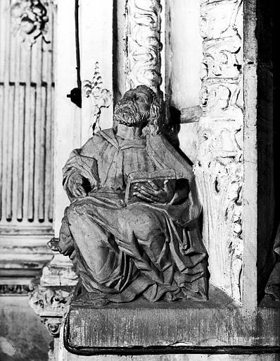 Carré du transept : personnage D