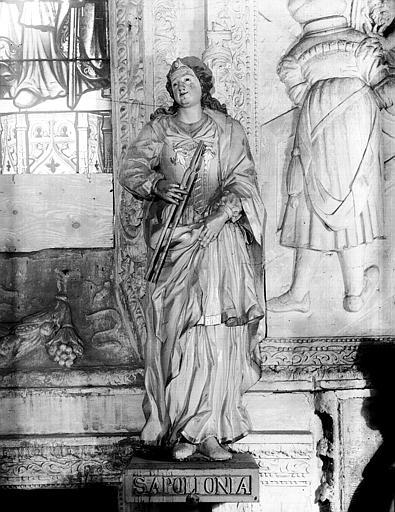 Statue : sainte Apollonie