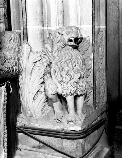 Intérieur : lion