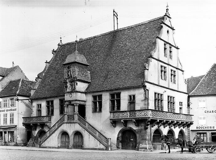 Façade principale et façade latérale