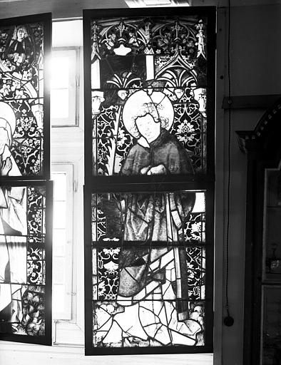 Vitrail : saint Etienne