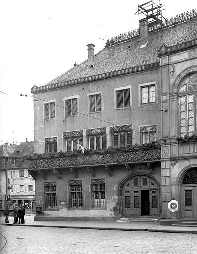 Extérieur, ensemble de la façade