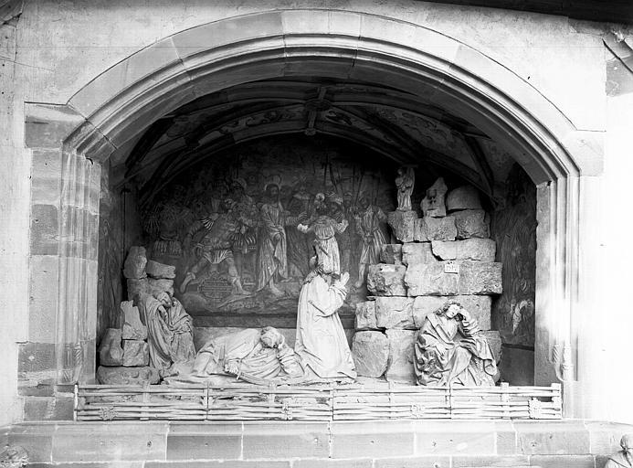 Bas-relief du Mont des Oliviers