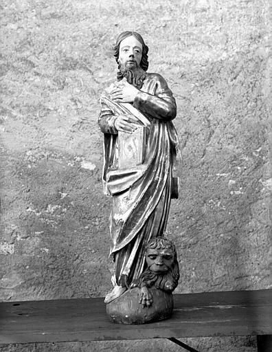 Statue de saint Marc, face