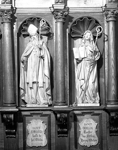 Stalle sud : sainte Odile Erhard