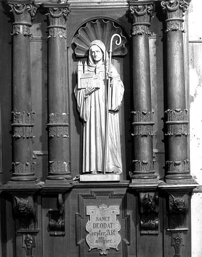 Stalle sud : saint Dié