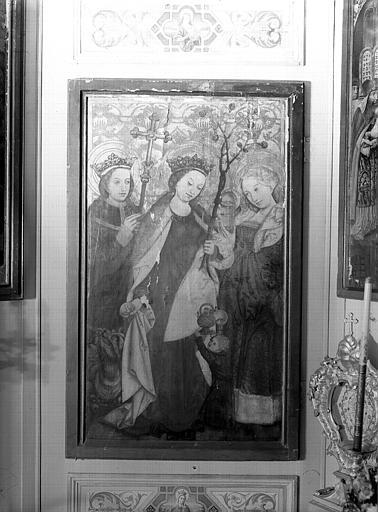 Volet d'autel : sainte Elisabeth