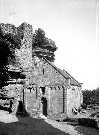 Château fort Saint-Nicolas, de la-Sainte-Trinité dit Château du Haut Barr