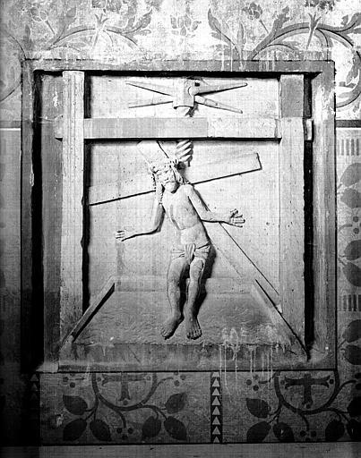 Bas-relief : le Pressoir mystique