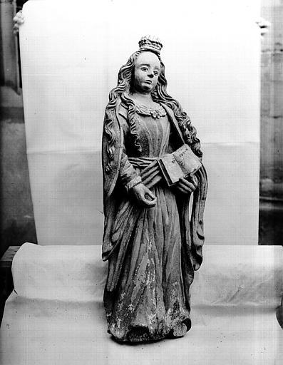 Statue de sainte Ursule
