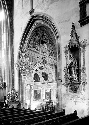 Décoration du transept