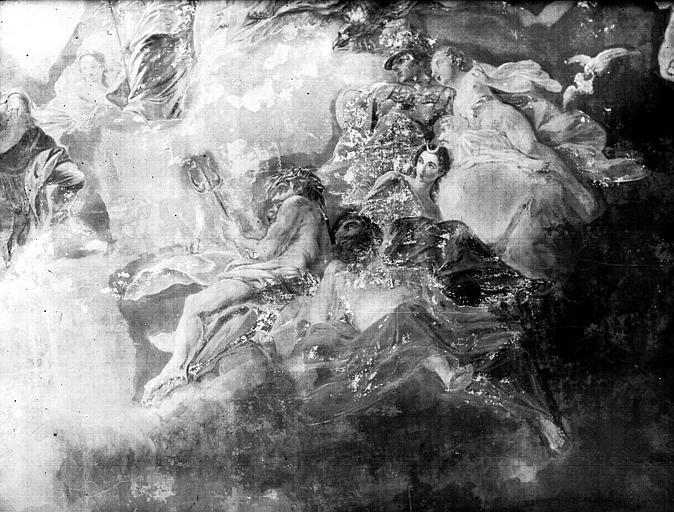 Détail du plafond : Olympe