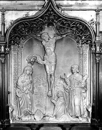 Bas-relief : Crucifixion