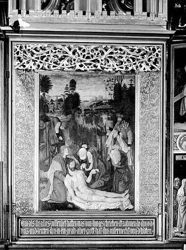 Peinture de l'autel