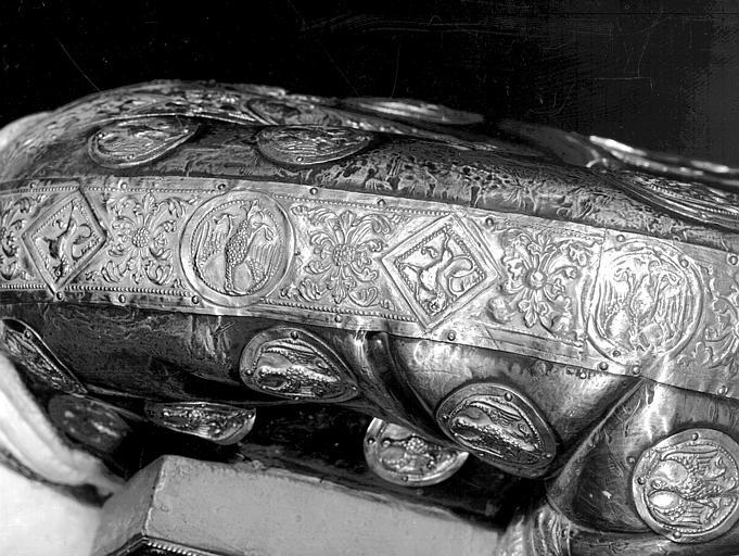 Buste de saint Cyriaque, profil