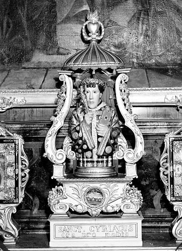 Reliquaire de saint Cyriaque