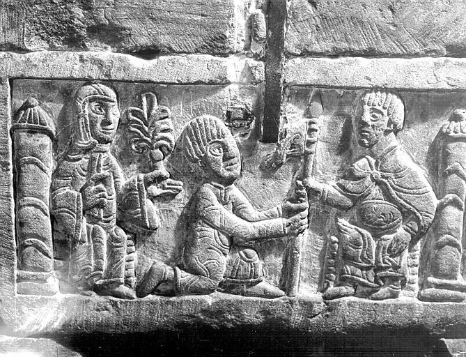 Détail d'un sarcophage