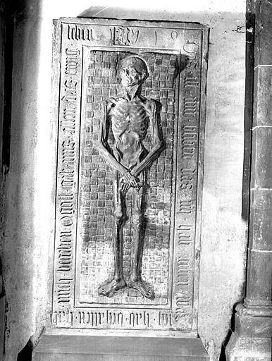 Pierre tombale de Nicolas Rader