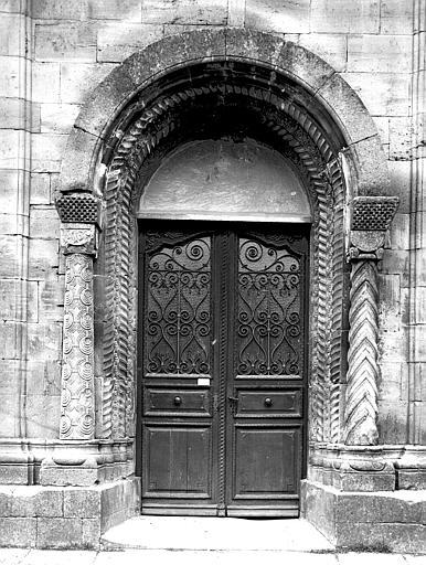 Ensemble du portail de la façade sud